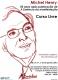 2013 » Curso Livre - Michel Henry