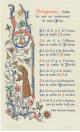 Cartão de Natal de Herman Leo van Breda